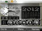 animated nokia battery clock